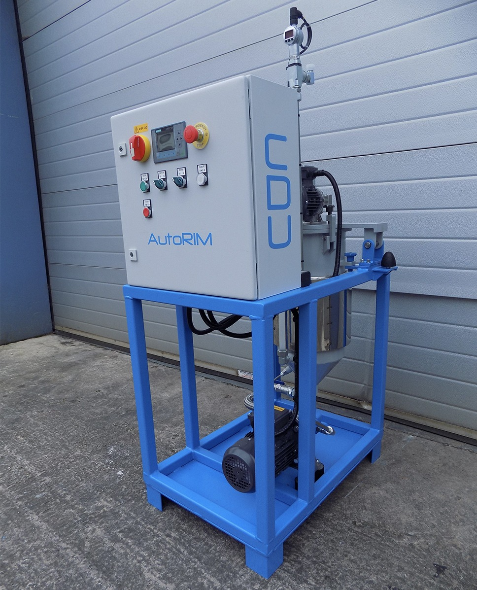low pressure pu mixing machines