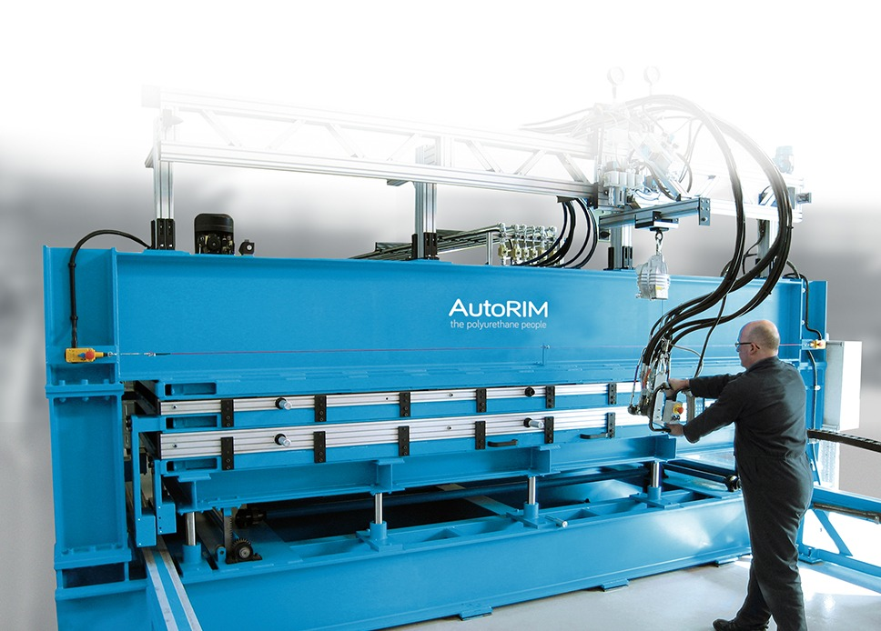 Panel Foaming Press | Polyurethane foam machinery | AutoRIM