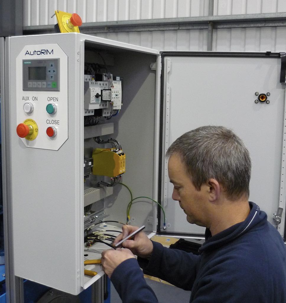 PU mixing machine Service