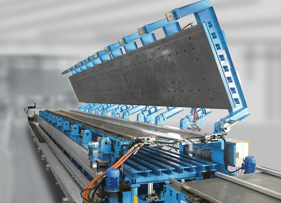 panel foaming presses