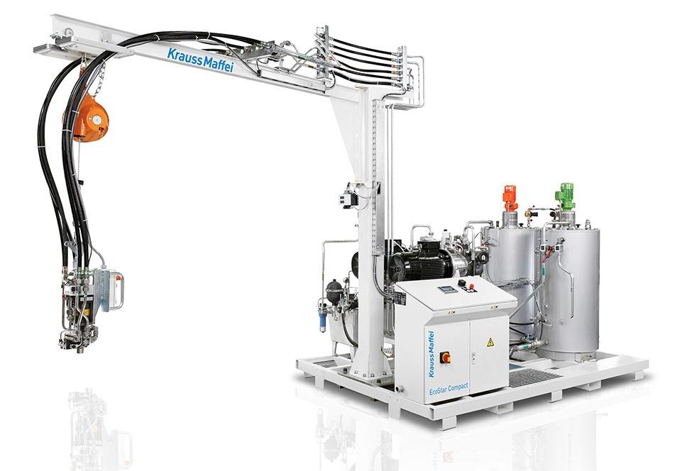 HIGH PRESSURE PU MIXING MACHINE