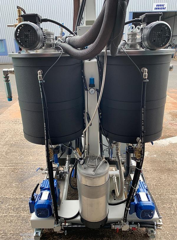 PU mixing machines